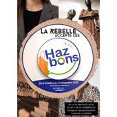 🔥La Rebelle accepte les Haz'bons🔥  Si vous habitez Hazebrouck, notre commune a mis en place un système de bons, où vous pouvez acheter à la mairie pour 10€ un bon d'une valeur de 20€ utilisable dans les commerces de notre ville! 💯  Ainsi, vous pouvez vous faire plaisir à la boutique avec ces Haz'bons!🔥 Valable du 05/10/2020 au 31/12/2020 inclus 😉  Une raison de plus pour venir voir les nouveautés !😍  À bientôt, L'équipe la Rebelle🌹